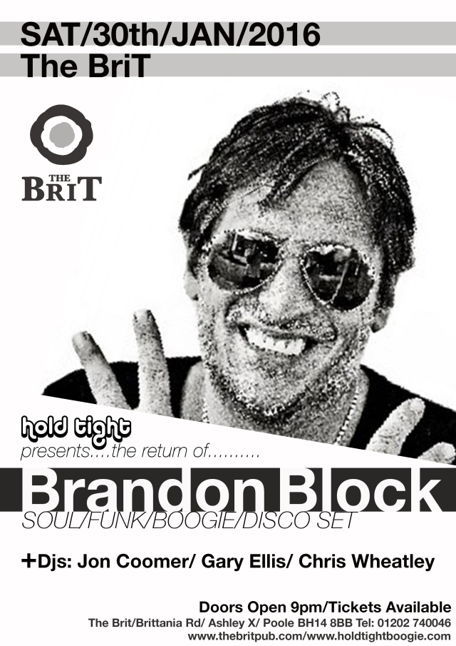 Brandon Block at The Brit, Poole Jan 30th